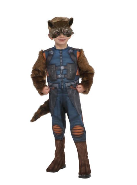 Disfraz de Rocket Raccoon para niño - Guardianes de la Galaxia Vol 2