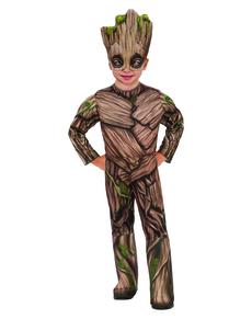 Disfraz de Groot deluxe para niño - Guardianes de la Galaxia Vol 2