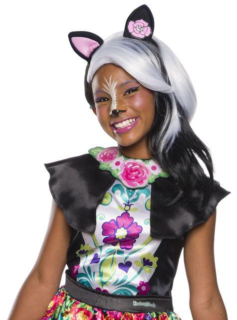 Peluca de Sage Skunk para niña - Enchantimals
