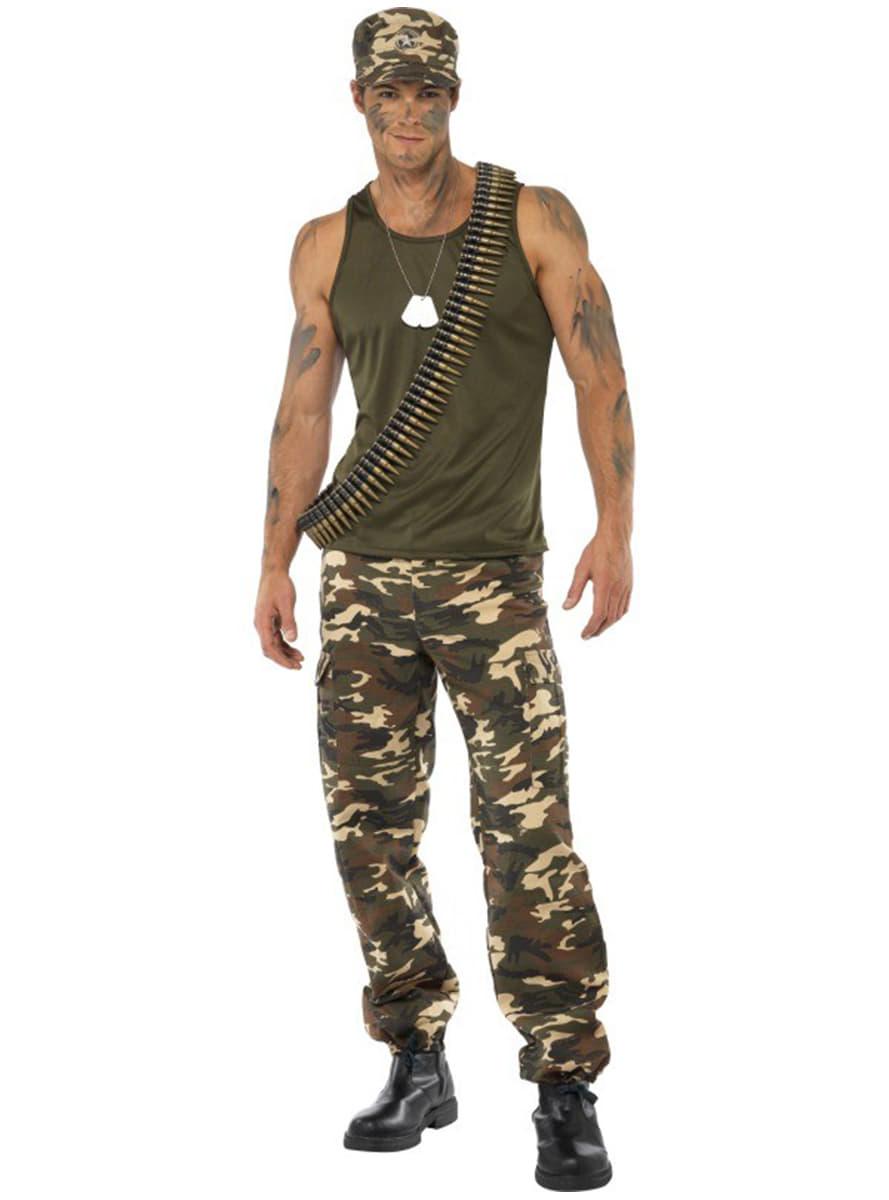 Disfraces militar c4c54e77c159