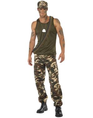 Camouflagekostume til mænd
