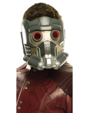 Star Lord Maske deluxe für Herren - Guardians Of The Galaxy Vol. 2