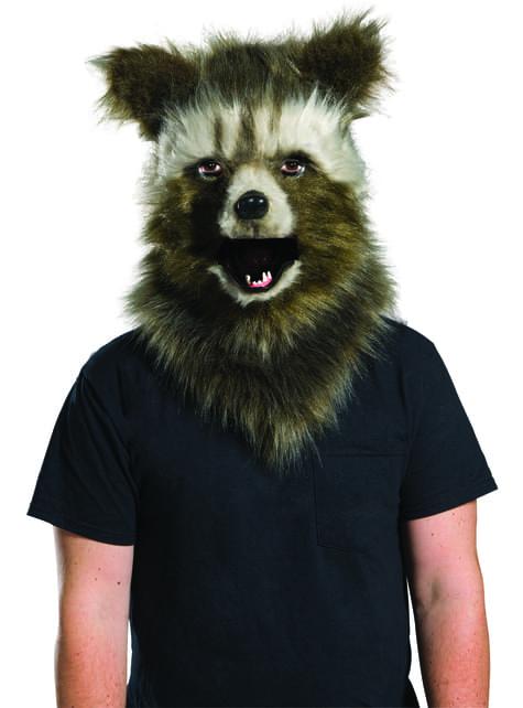 Máscara de Rocket Raccoon prestige para hombre - Guardianes de la Galaxia Vol 2