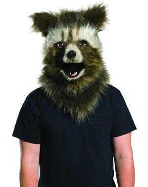 Rocket Raccoon Maske prestige für Erwachsene - Guardians of the Galaxy