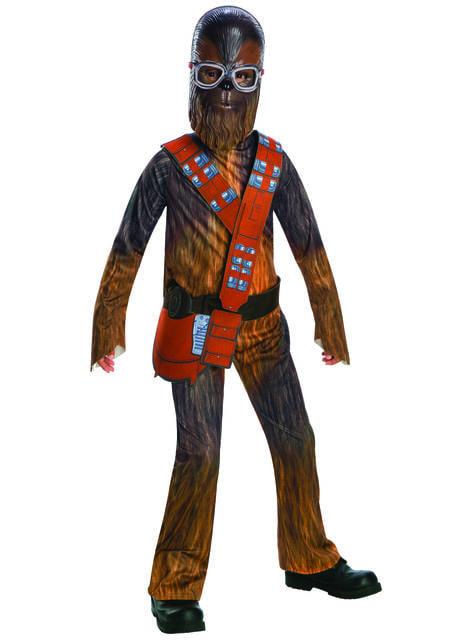 Fato de Chewbacca para menino - Han Solo: Uma História de Star Wars