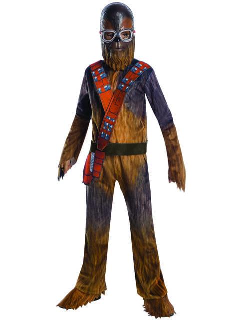 Chewbacca Deluxe תלבושות לילדים - סולו: סיפור מלחמת הכוכבים