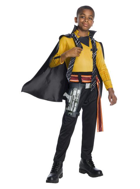 Lando Calrissian Deluxe Costume for boys - Solo: A Star Wars Story
