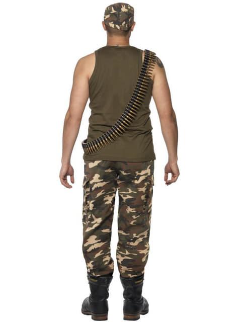Disfraz de camuflaje para hombre - hombre