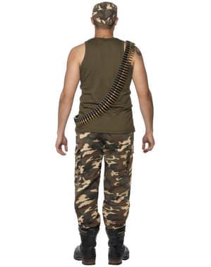 Militærmann Kostyme til Voksne