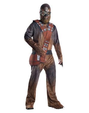 Fato de Chewbacca deluxe para homem - Han Solo: Uma História de Star Wars