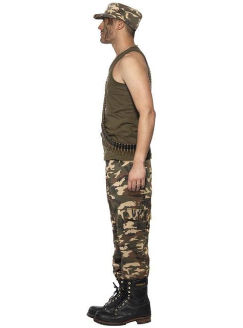 Disfraz de camuflaje para hombre - original