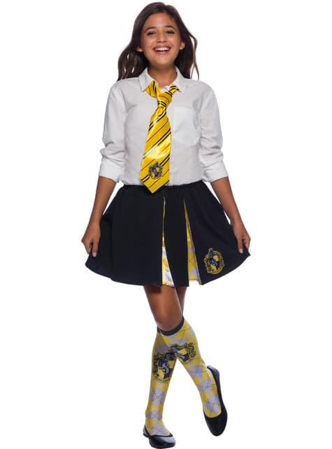 Corbata de Hufflepuff - Harry Potter