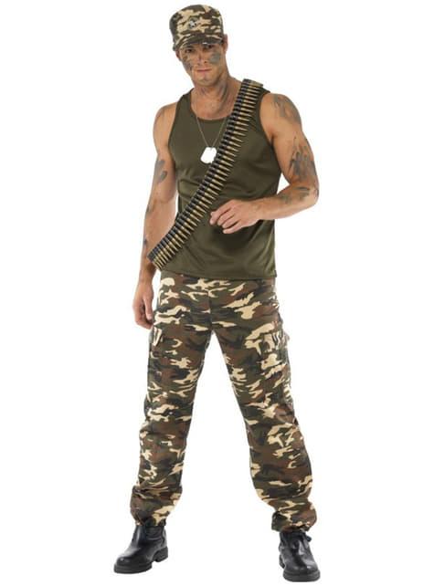 Soldaten Kostüm für Herren