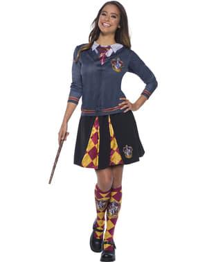 Gryffindor skjorte top til voksne - Harry Potter