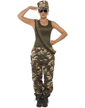Дівчина армії для дорослих костюм