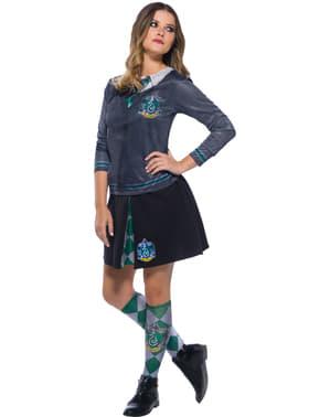 Slytherin Hemd top für Erwachsene - Harry Potter