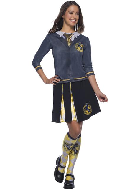 Huffelpuf Shirt top voor volwassenen - Harry Potter