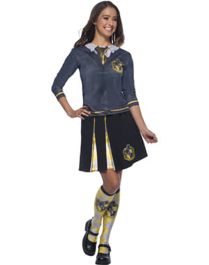 Chemise Poufsouffle top adulte - Harry Potter