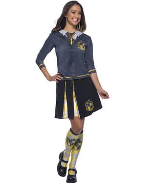 Hufflepuff Shirt efst fyrir fullorðna - Harry Potter