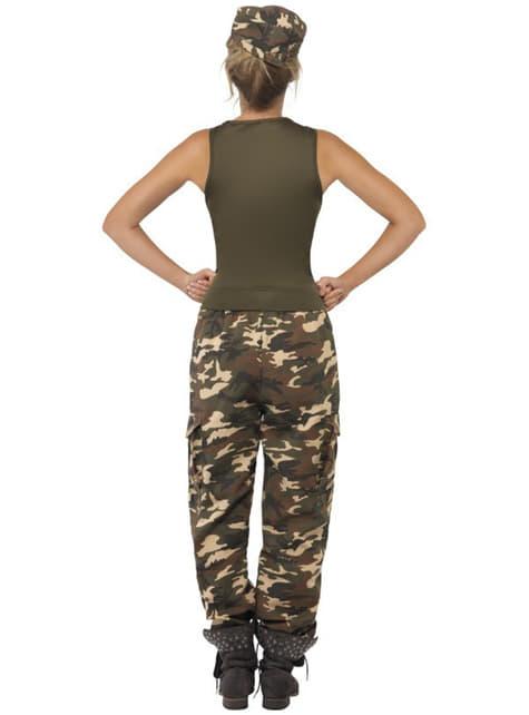 Disfraz de camuflaje para mujer - mujer