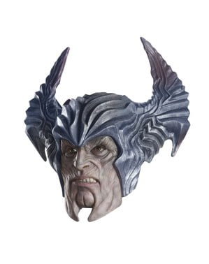 Máscara de Steppenwolf deluxe para adulto - Liga de la Justicia