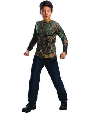 חולצת טריקו Aquaman לבן - ליגת הצדק