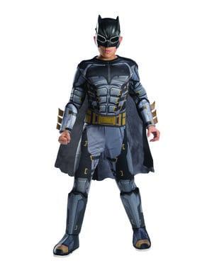 Erkekler için Deluxe Taktik Batman kostümü - Justice League