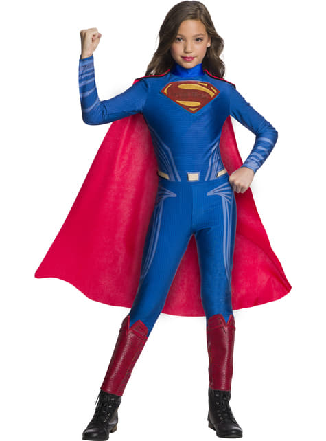 Supermand kostume til piger - Justice League