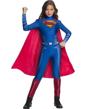 Kostium Superman dziewczęcy - Liga Sprawiedliwości