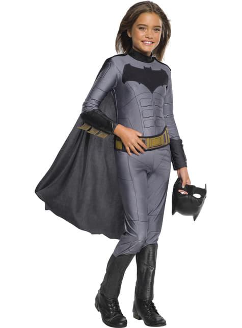Fato de Batman para menina - Liga da Justiça