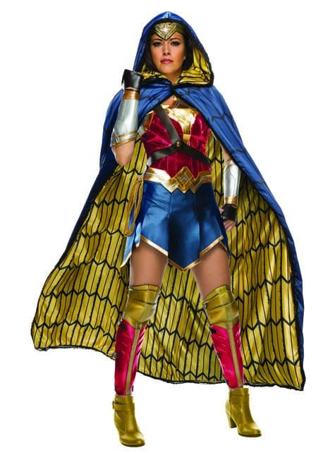 Disfraz de Wonder Woman Grand Heritage para mujer - Liga de la Justicia
