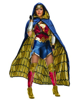 Fato de Wonder Woman Grand Heritage para mulher - Liga da Justiça