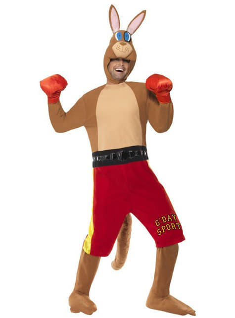 Boxande känguru Maskeraddräkt