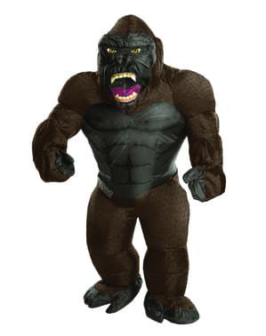 King Kong Kostüm aufblasbar für Erwachsene