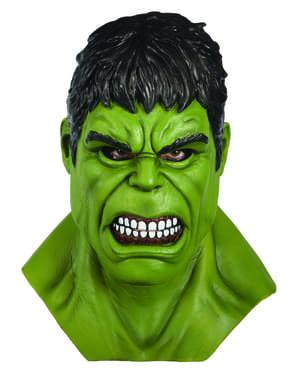 Máscara de Hulk para homem