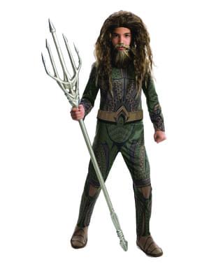 Fato de Aquaman para menino - Liga da Justiça