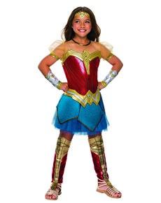 Disfraz de Wonder Woman Premium para niña - Liga de la Justicia 95b7aaca297