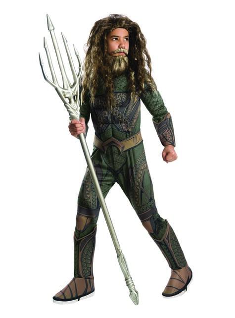 Deluxe Aquaman kostuum voor jongens - Justice League