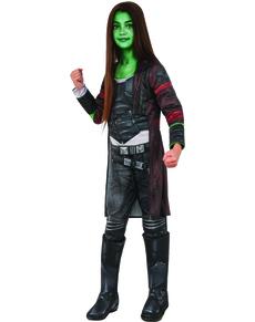 Disfraz de Gamora deluxe para niña - Guardianes de la Galaxia Vol 2 0a51504eed0