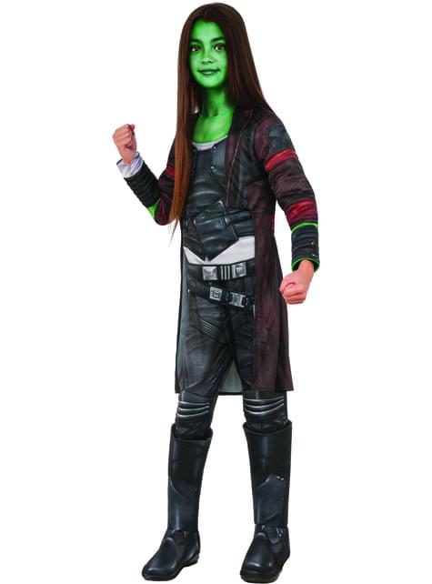 Fato de Gamora deluxe para menina - Guardiões da Galáxia Vol 2