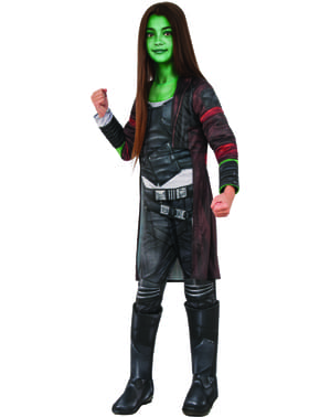 Gamora Kostüm Deluxe für Mädchen - Guardians Of The Galaxy Vol. 2