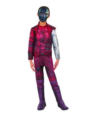 Fato de Nebula deluxe para menina - Guardiões da Galáxia Vol 2