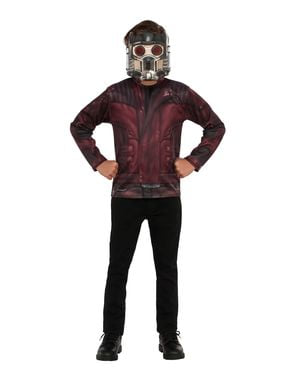 Star Lord top kostume til drenge - Guardians of the Galaxy Vol 2