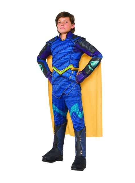 Disfraz de Loki deluxe para niño - Thor Ragnarok