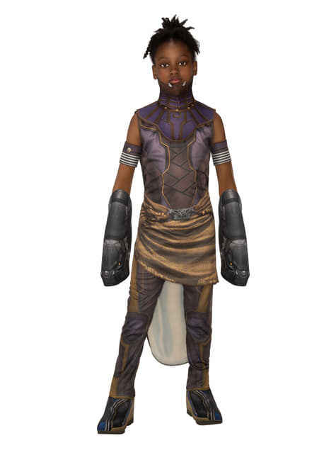 Deluxe Shuri costume for girls - Black Panther