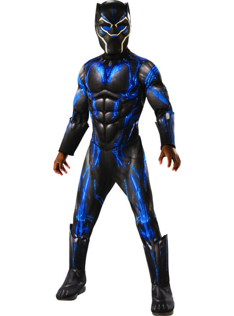 Disfraz de Black Panther Battle Suit deluxe para niño