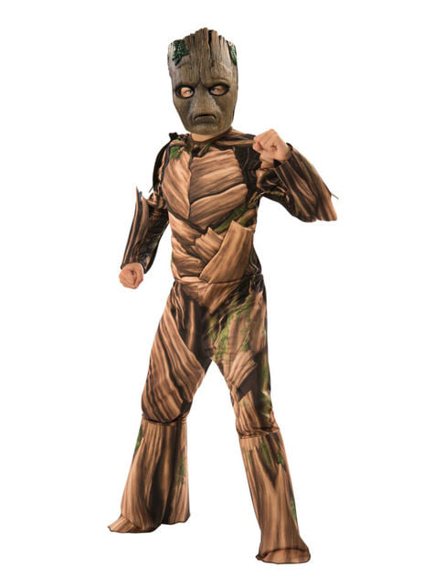 Deluxe Teen Groot costume for boys - Avengers: Infinity War
