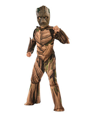 Costume di Groot adolescente deluxe per bambino - The Avengers Infinity War