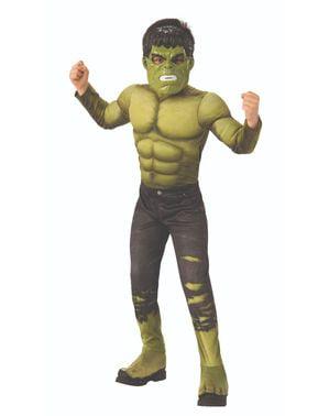 Deluxe Hulk kostume til drenge - Avengers: Infinity War