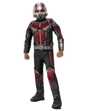 Maskeraddräkt Ant Man deluxe barn - Ant Man and the Wasp